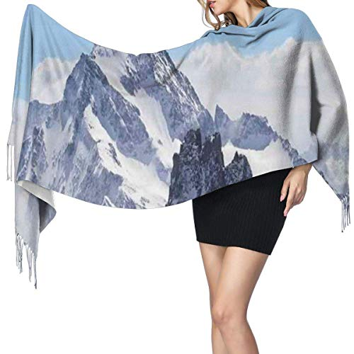 Womens Large Soft Cashmere-like Pashmina Shawls Wraps Scarf So What Guy Meme Face Best Avatar Wtf Hipster Mascot Snobby Sign Picture Winter Warm Tassel Shawl Scarves
