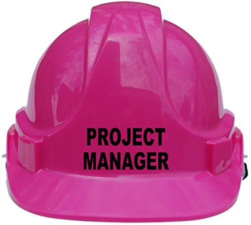 """Kinderhelm """"Project Manager"""", Schutzhelm mit Kinnriemen, eine Größe verstellbar, geeignet von 4–12Jahren, entspricht Sicherheitsstandard EN397, rosa"""