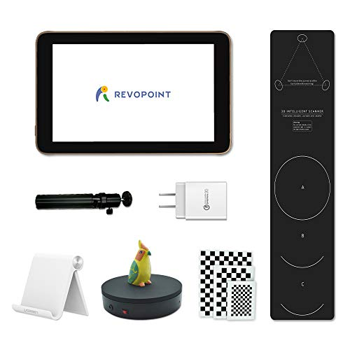 Cheapest Price! Revopoint White Light Desktop Touchscreen 3D Scanner Tanso S1, 0.05mm Accuracy, 2-mi...