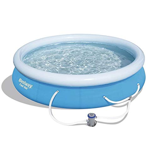 Bestway 12ft x 30in Fast Set Up Inflatable Above Ground Pool w/Filter Pump