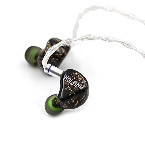 Fearless Audio Paladin Series Electrostatic Driver In-Ear Monitor HiFi Earphone for Audiophiles (Roland Gold)
