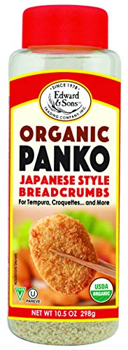 Edward & Sons Organic Panko, Japanese Style Breadcrumbs, 63 Ounce (Pack of 6)