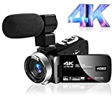Best Camcorders - Camcorder Video camera Ultra HD 4K Camcorder Review