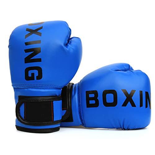 FUMEI Kinder Boxhandschuhe, Kickboxhandschuhe mit Klettschluss Klein Box-Handschuhe für Kinder von 3-10 Jahre Training Gloves 6 Unzen zum Kampfsport, MMA, Muay Thai, Kickboxen