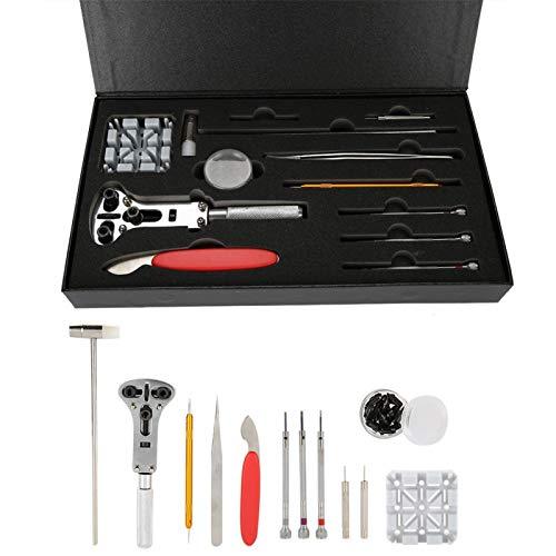 Juego de herramientas Watch Repair de 12 piezas, para principiantes