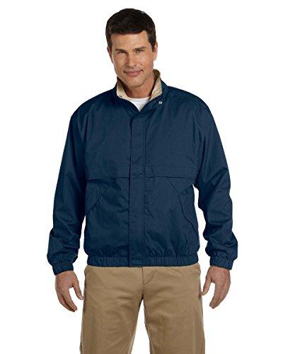 Devon & Jones Men's Clubhouse Jacket, Navy/Khaki, XL