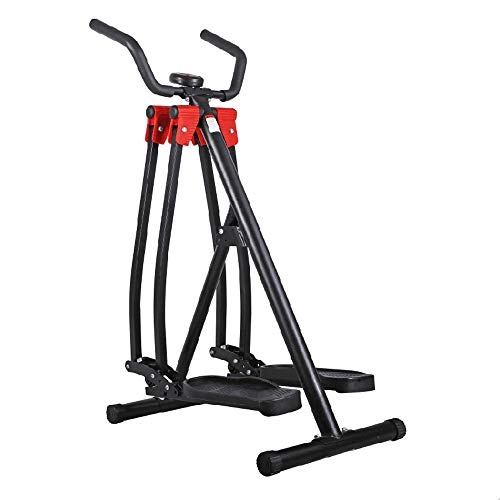 ZAIHW Pérdida casa aparatos de Ejercicios Paso a Paso Peso de la máquina elíptica Jogging Mini máquina caminadora Stepping máquina Equipo de la Aptitud