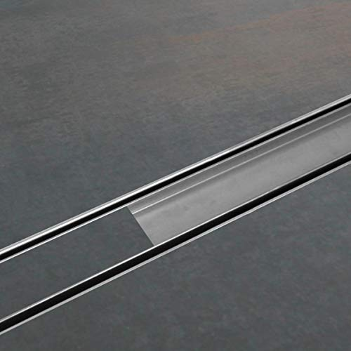 ESS Duschrinne Easy Drain Compact 30 FF Fliese 70 cm befliesbar edelstahl Komplettset flach