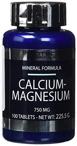 SCITEC Calcium-Magnesium - 100 tablets (8%)