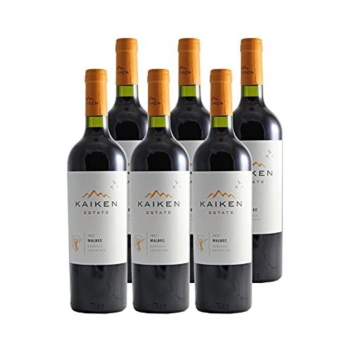 Argentine Mendoza Malbec Reserva Rouge 2017 - Kaiken - Vin Rouge - Origine Argentine - Lot de 6x75cl - Cépage Malbec