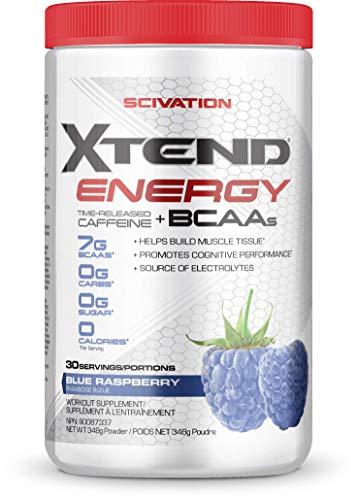 Scivation Energy BCAA Blue Raspberry 30, 350 g