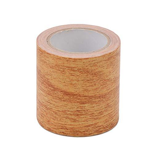 SUCHUANGUANG 5 M/Rollo Cinta Adhesiva Adhesiva para reparación de Vetas de Madera Realista 8 Colores para Muebles Cinta para Muebles 5#