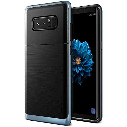 【VRS】 Galaxy Note 8 対応 ケース 耐衝撃 衝撃 吸収 米軍 MIL 規格 薄型 スリム カバー 対衝撃 スマホケース [ Samsung Galaxy Note8 ギャラクシー ノート 8 対応 ] High Pro Shield ブルー