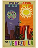 LAIDAO Leinwand Poster Chicago, Hong Kong, Venezuela Und