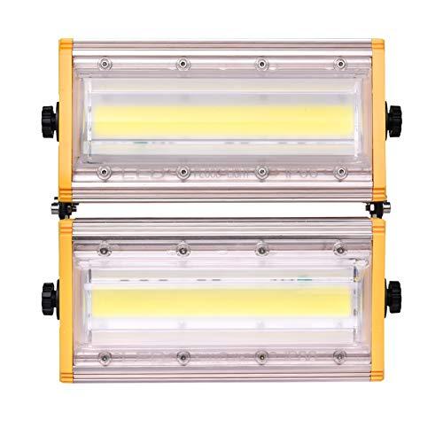 XICI LED Foco Exterior, Proyector al Aire Libre Reflector Lámpara de Pared Reflector Foco Exterior para Patio, Camino, Jardín, Almacén