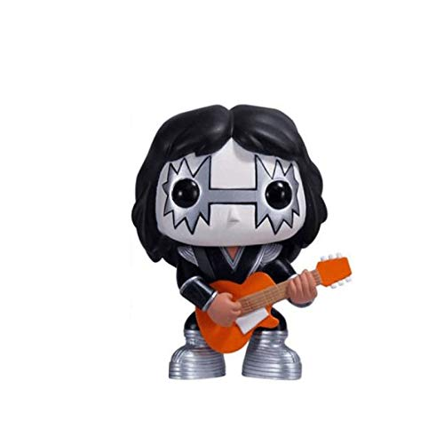 Funko Kiss The Spaceman Figure Rocks Chibi PVC Q Version Vinyl 10cm for Boy