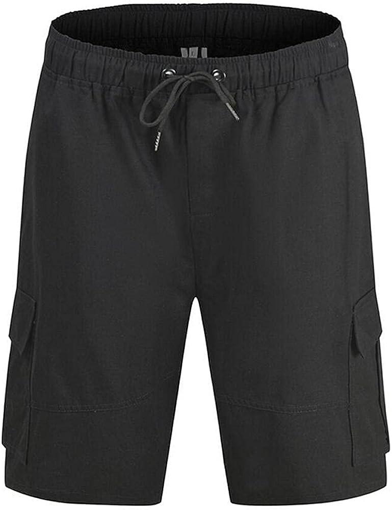 Naxxramas Mens Summer Shorts Cargo Shorts Outdoor Climbing Shorts Multi-Pockets