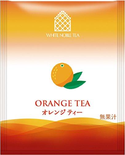 三井農林 ホワイトノーブル紅茶 アルミ ティーバッグ オレンジ 2.2g×50個