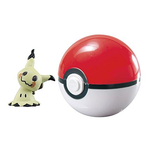 Pokémon Clip 'n' Carry Poké Ball, Mimikyu and Poké Ball