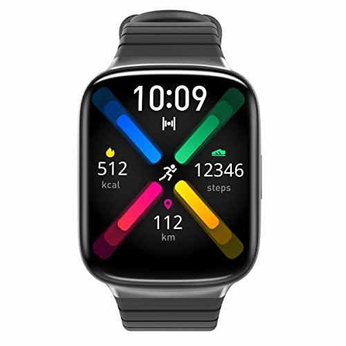 E Easiecom Smartwatch Uomo Donna, 1,69'' Full Touch Orologio Fitness Smartwatch SpO2 Contapassi Cardiofrequenzimetro, 5ATM Sportivo Activity Tracker Cronometro, Notifiche Messaggi