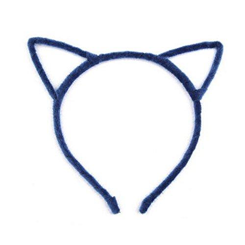 Élégant bandeau de cheveux bande Hairband pour les femmes, Bleu