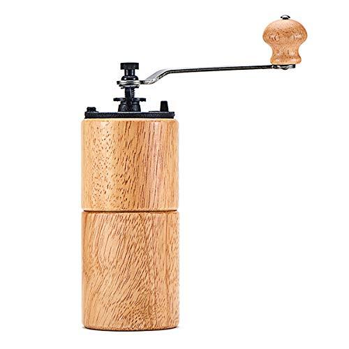 Family Needs Manual Koffiemolen Machine koffieboon Mill Cast Iron slijpen Core de houten handvat (Color : Green)