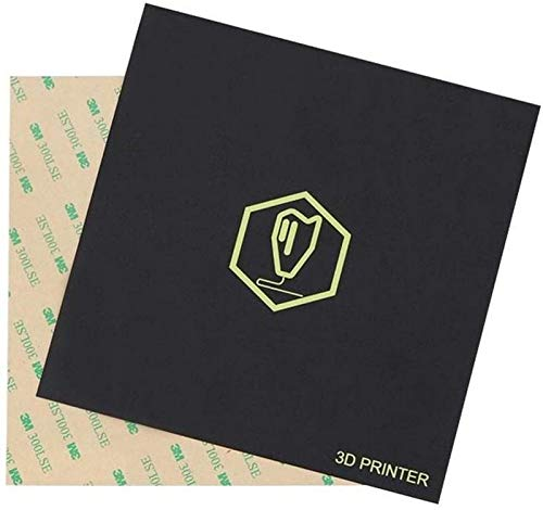 JJDSN 170 170mm Frosted Heated Bed Hot Bed Plattformaufkleber mit 3M Träger für 3D-Drucker