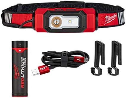 Milwaukee 2116-21 USB Rechargeable BEACON Hard Hat Light