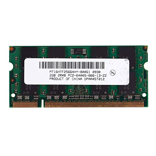 SODIAL 2GB DDR2 PC2-6400 800MHz 200Pin 1.8V Memoria
