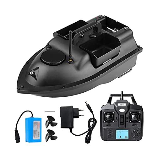 RKRXDH Control inalámbrico Remoto de posicionamiento de Barco de Pesca de Barco de anidación Inteligente, Pantalla LCD de Embudo de buscador de Peces Inteligente Bait Boat Juguete Motor