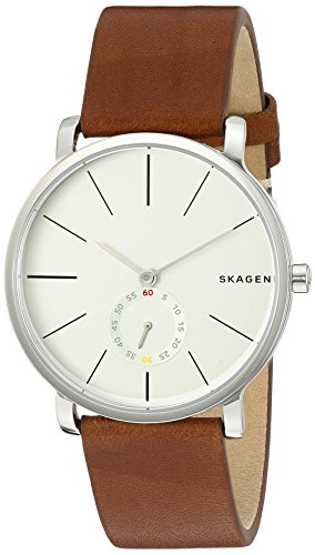 Skagen Hagen Leather Watch (SKW6273)