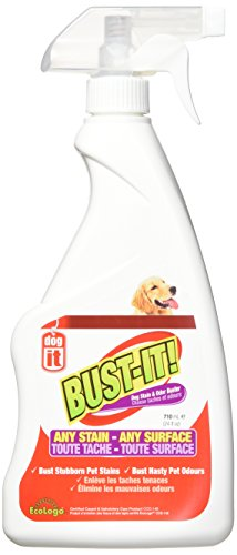 Dogit Bust it Pet Stain e Odore Buster per Qualsiasi Macchia Qualsiasi Superficie, 710ml