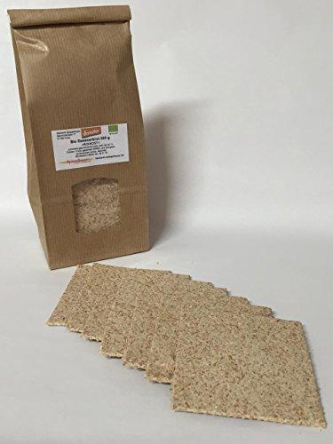 Bio Essenerbrot 200 g aus gekeimten Dinkel ROHKOST Essener Brot Scheiben 2 mm