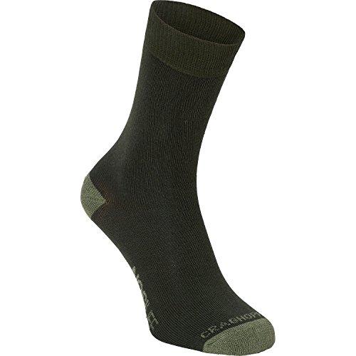 Craghoppers Herren Nlife Reisen Sgl Socken, Park/Drygrs, 9-12