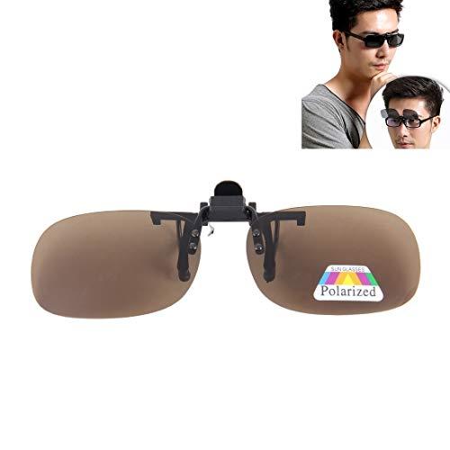 Qiuge Tipo De Gafas De Sol Polarizadas Clip del Tirón del Clip De Plástico Irrompible Vidrios De La Lente De Conducción Pesca Al Aire Libre Deportes QiuGe (Color : Color1)