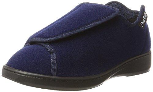 PodoWell ANITE Mixte adulte Basket (chaussure), Marine, 43 EU