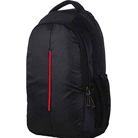 Sceentp Casual Waterproof Laptop Bag/Backpack for Men Women Boys with Free Rain Cover (18 Inch) (34lt) (Black)