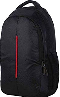 "Style New Fashin Men's 15.6"" Polyester Casual Laptop Backpack with Adjustable Strap Expandable with 2 Compartments, Black"
