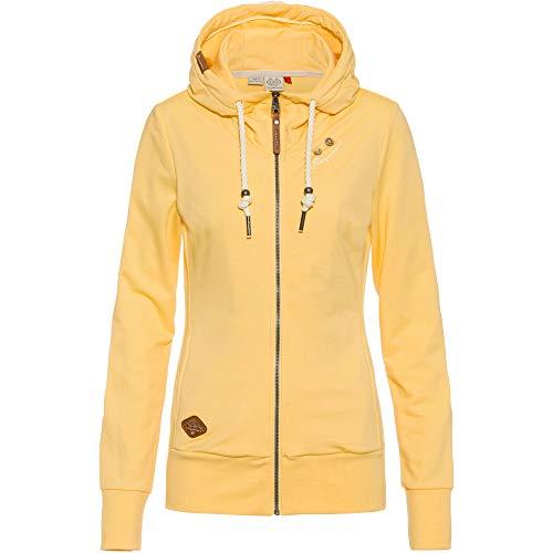 Ragwear Damen Paya Sweatjacke gelb M