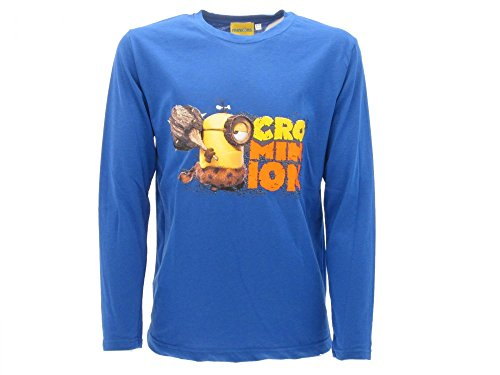 Camiseta de los Minions 2016 azul nuevo modelo de ropa para niños Minions de moda 2016 con tarjeta