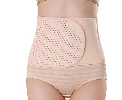 QUUPY Corset abdominal transpirable ajustable postnatal cintura del vientre delgado cinturón de vientre Wrap Shaper corsé para mujeres Shapewear Abdominal Binder cintura entrenador