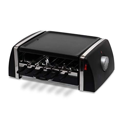 ヒロ・コーポレーション 電気バーベキュー&自動回転焼き鳥器 SC-T666 ブラック