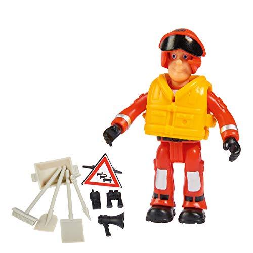 Simba 109251090 - Feuerwehrmann Sam Einzelfigur / jedes Ei enthält eine Figur mit Zubehör / Sam, Hannah, Lizzie, Helen, Penny oder Joe / Es Wird nur EIN Ei geliefert