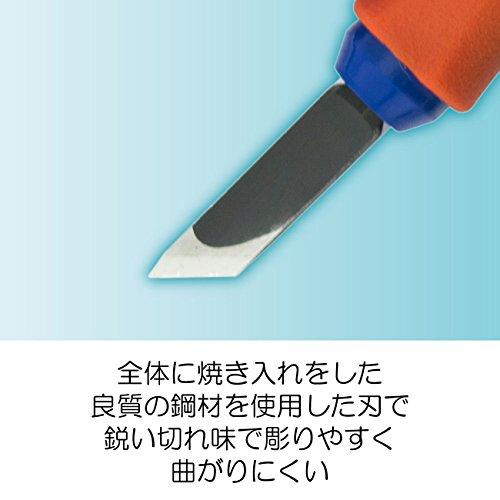 サクラクレパス彫刻刀グリップ付き5本組EHT-5A
