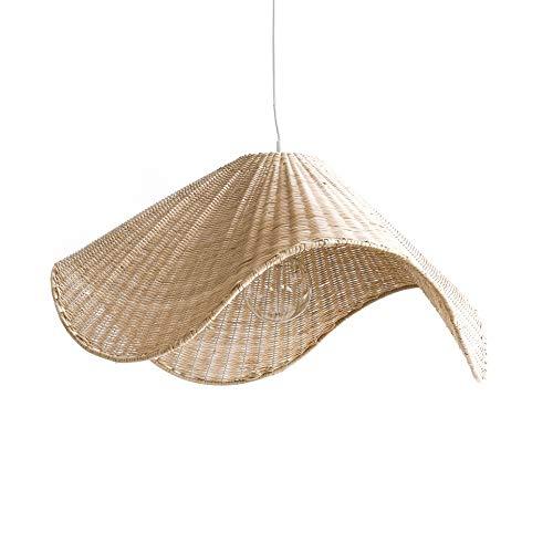 Kenay Home Else Lámpara de Techo Decorativa, Color Natural, 60x60x28