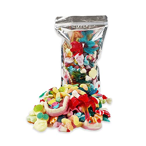 1L Spooky Halloween Sweets Share Bag, Mixed Trick or Treat Candy Pouch 800g