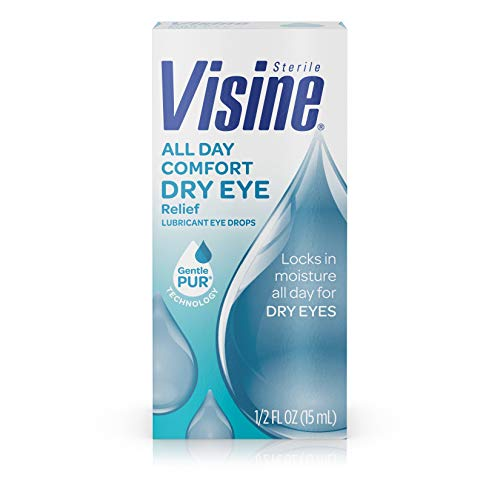 Visine All Day Comfort Dry Eye Relief Eye Drops Now $1.70