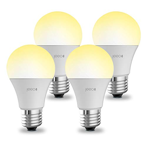Smart WiFi Light Bulbs - A19 E26 Dimmable LED Lights by Jeeo...