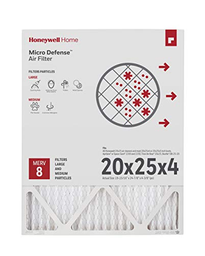 Honeywell Home 4-Inch High Efficiency Air Cleaner...