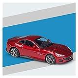 LYJB 1: 43 para Ferrari 812 Modelo de aleación de Superfast Modelo de automóvil Colección Decoración de Juguetes Niños Cumpleaños Coche Modelo a Escala (Color : Portofino)